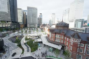 東京駅の写真素材 [FYI04725290]