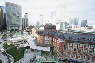 東京駅の写真素材 [FYI04725291]