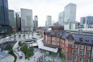 東京駅の写真素材 [FYI04725292]