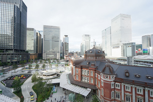 東京駅の写真素材 [FYI04725297]
