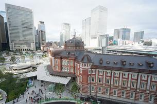 東京駅の写真素材 [FYI04725302]