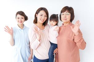 家族・医療イメージの写真素材 [FYI04725835]