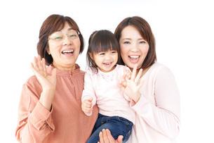 仲良しの家族の写真素材 [FYI04725955]