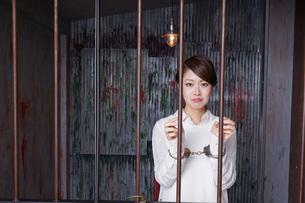 逮捕された女性の写真素材 [FYI04727312]