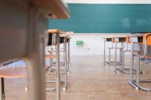学校の教室の写真素材 [FYI04727361]