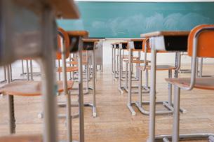 学校の教室の写真素材 [FYI04727366]