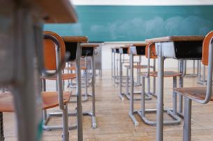 学校の教室の写真素材 [FYI04727373]