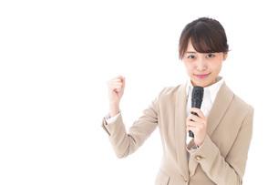 選挙・投票・演説の写真素材 [FYI04727645]