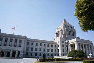 日本の国会議事堂の写真素材 [FYI04727948]