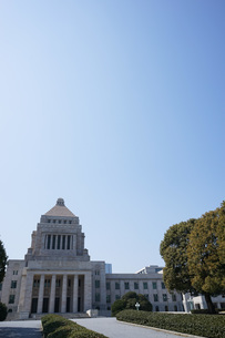 日本の国会議事堂の写真素材 [FYI04727949]