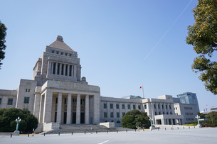 日本の国会議事堂の写真素材 [FYI04727950]