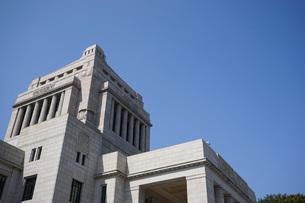 日本の国会議事堂の写真素材 [FYI04727953]