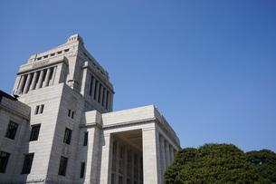 日本の国会議事堂の写真素材 [FYI04727956]