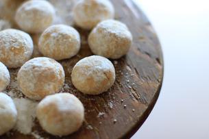 スノーボールクッキーの写真素材 [FYI04728016]