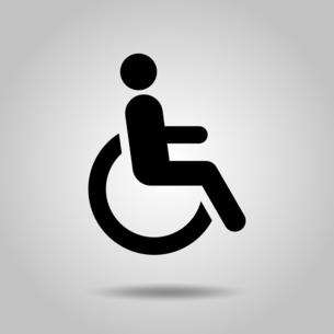 身体障害者 アイコンのイラスト素材 [FYI04728148]