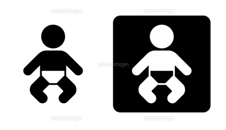赤ちゃん アイコンのイラスト素材 [FYI04728150]