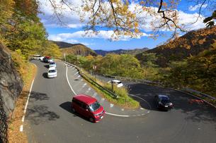紅葉のいろは坂の写真素材 [FYI04728445]