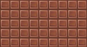 ミルクチョコレートのイラストのイラスト素材 [FYI04729238]