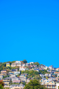 関西の風景 兵庫県西宮市 甲陽園の住宅の写真素材 [FYI04729987]