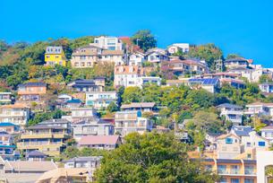 関西の風景 兵庫県西宮市 甲陽園の住宅の写真素材 [FYI04729988]