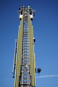 消防車のはしごの写真素材 [FYI04730046]