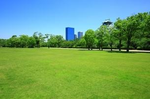 大阪城西ノ丸庭園の写真素材 [FYI04730574]