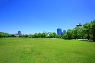 大阪城西ノ丸庭園の写真素材 [FYI04730575]