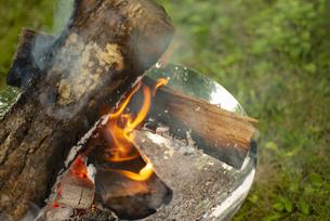 焚き火の写真素材 [FYI04730634]