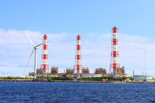 茨城県 鹿島火力発電所の写真素材 [FYI04731002]
