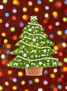 クリスマスツリーとイルミネーションの写真素材 [FYI04731329]