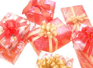 7個のプレゼントの写真素材 [FYI04731344]