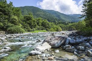 付知峡風景の写真素材 [FYI04731891]