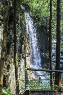 付知峡観音滝の写真素材 [FYI04731897]
