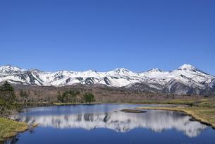 春の知床五湖(北海道・知床)の写真素材 [FYI04732186]