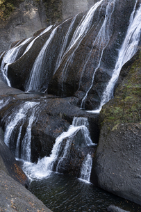 晩秋の袋田の滝の写真素材 [FYI04732253]