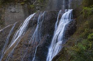 晩秋の袋田の滝の写真素材 [FYI04732256]