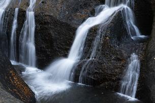 晩秋の袋田の滝の写真素材 [FYI04732258]
