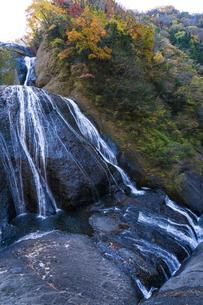 晩秋の袋田の滝の写真素材 [FYI04732292]