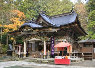 紅葉の宝登山神社の写真素材 [FYI04732444]