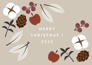 クリスマス 植物 イラストのイラスト素材 [FYI04732546]