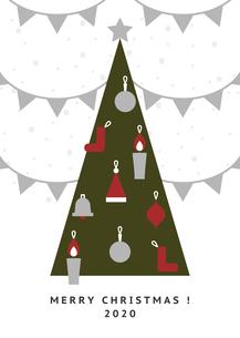 クリスマス ガーランド イラストのイラスト素材 [FYI04732547]