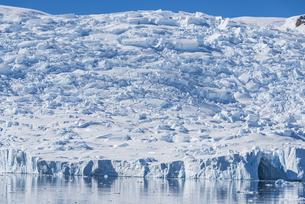 南極・ネコハーバーの氷河の写真素材 [FYI04732556]