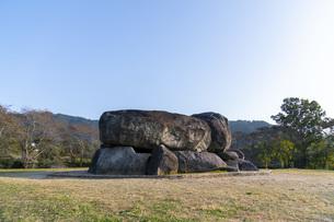 石舞台古墳の写真素材 [FYI04732819]