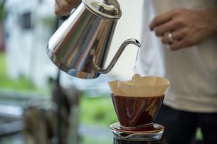 モーニングコーヒーの写真素材 [FYI04732835]