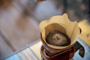 モーニングコーヒーの写真素材 [FYI04732837]