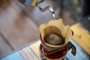 モーニングコーヒーの写真素材 [FYI04732838]