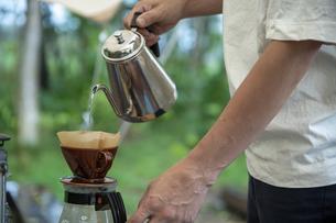 モーニングコーヒーの写真素材 [FYI04732842]