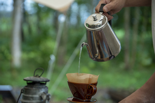 モーニングコーヒーの写真素材 [FYI04732843]