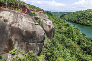 恵那峡風景の写真素材 [FYI04733157]