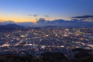 北九州市の夜景の写真素材 [FYI04733290]